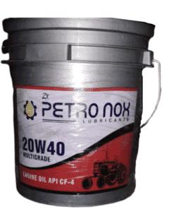20W-40 ENGINE OIL ZX PETRONOX